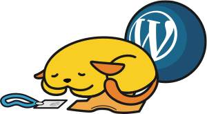 Sleepy WordCamp Wapuu